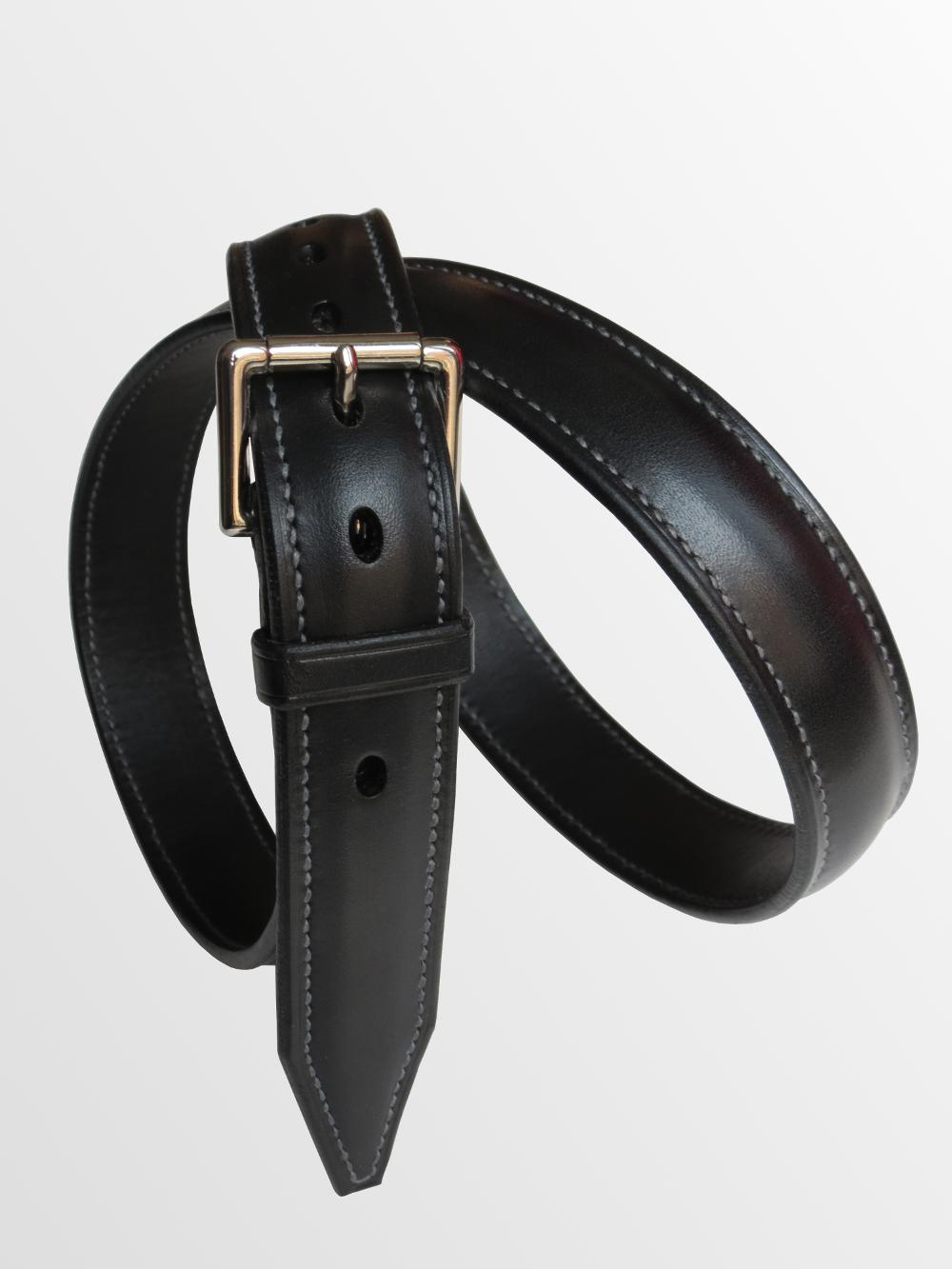 ceinture cuir bombée