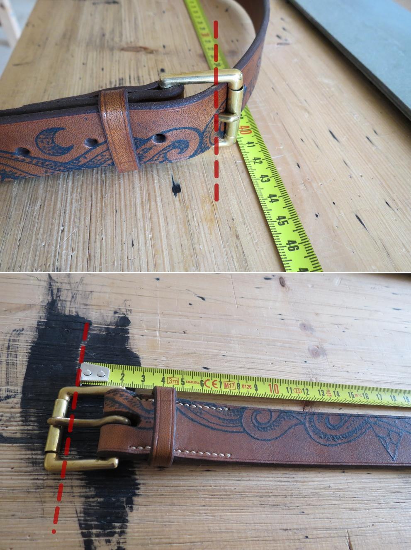 schéma pour prendre la mesure de sa ceinture