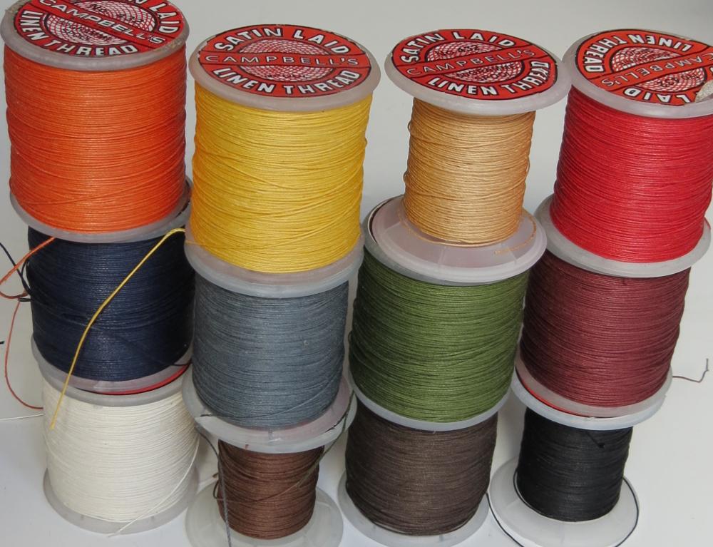 Choix de couleur pour le fil de lin