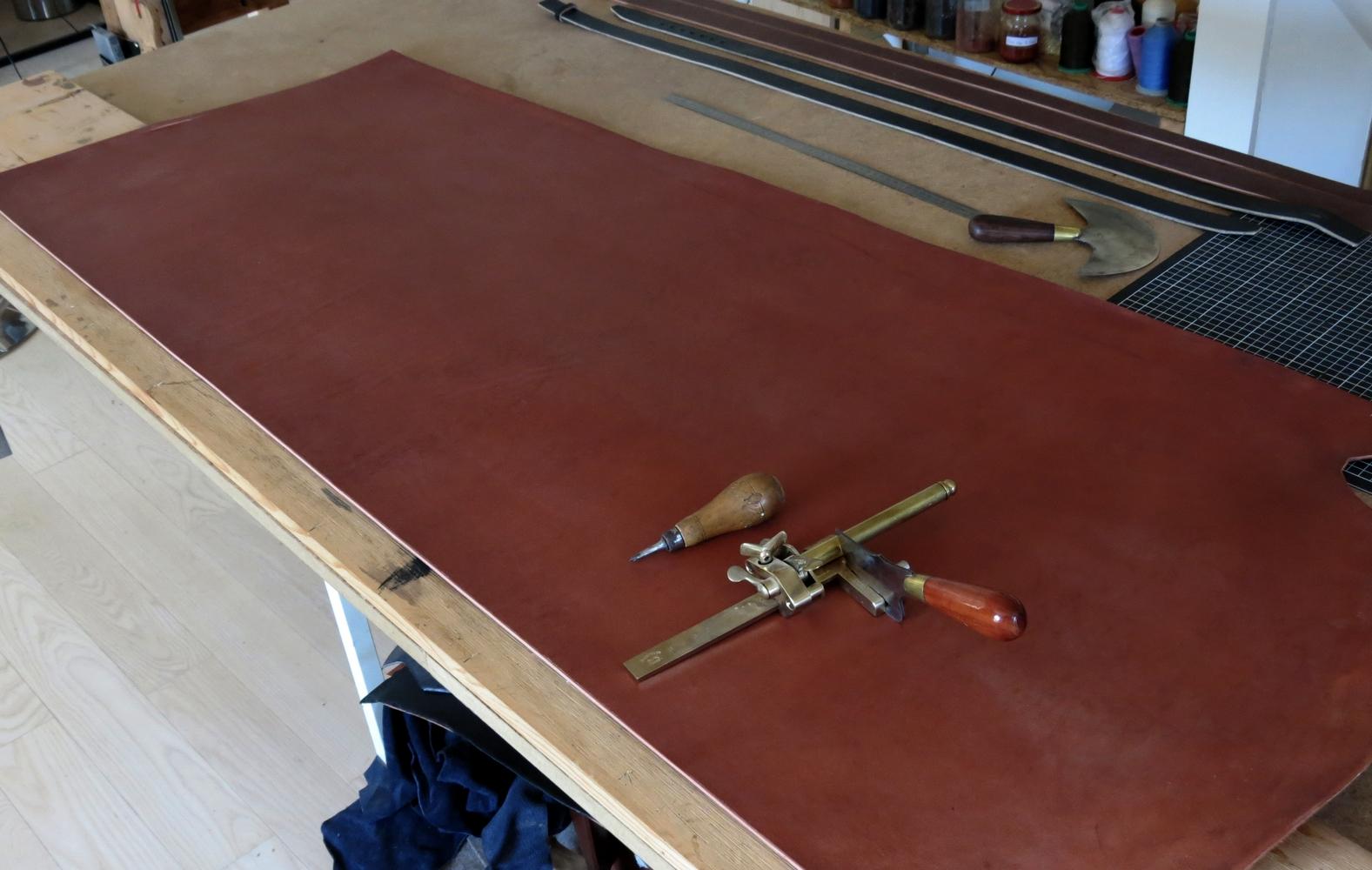 table de découpe atelier