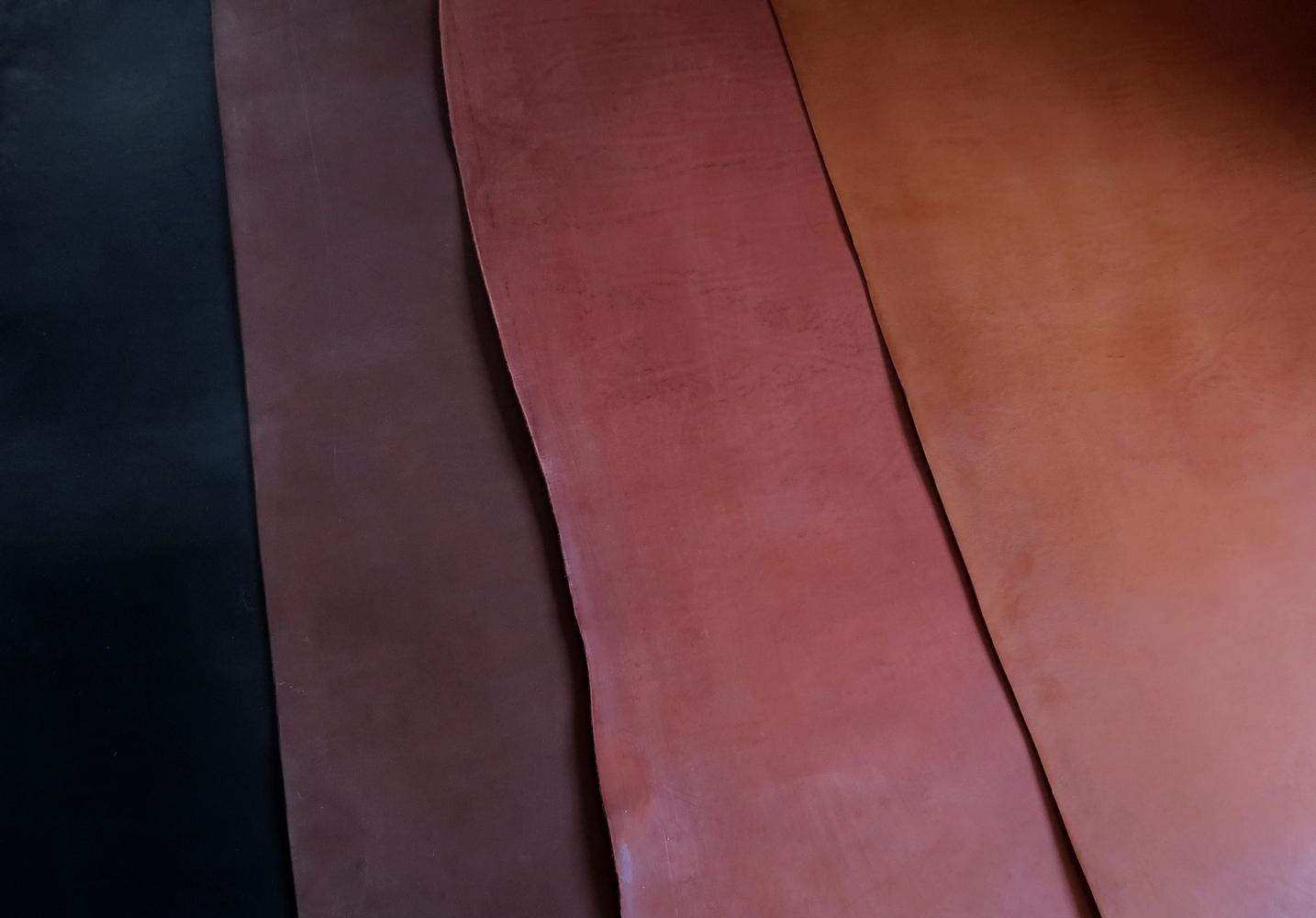 choix de couleur de cuir pour sur mesure