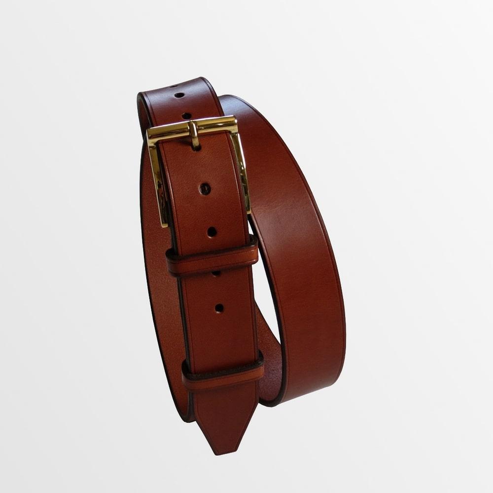 ceinture habillée cuir haut de gamme luxe