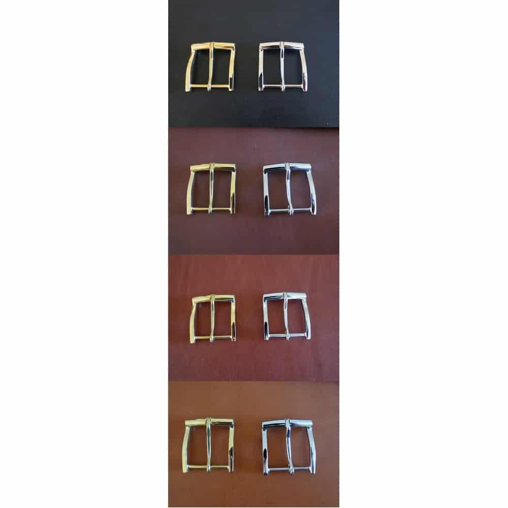 choix couleur cuir boucles ceinture sur mesure