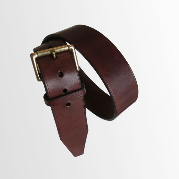 ceinture cuir large haut de gamme