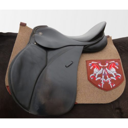 tapis de selle cheval feutre made in france