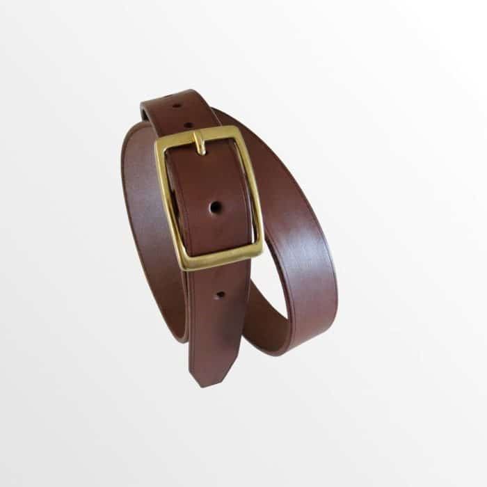ceinture marron en cuir garantie à vie made in france