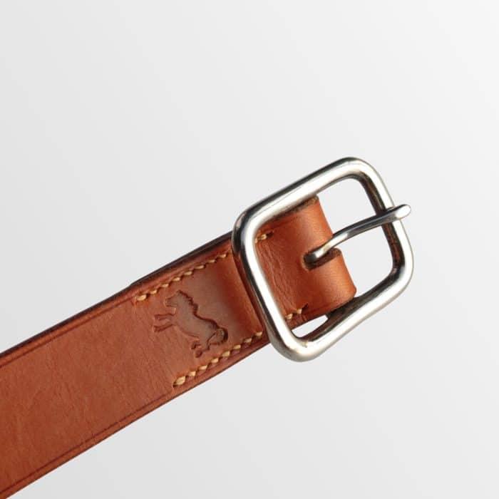 ceinture en cuir avec boucle inox de qualité