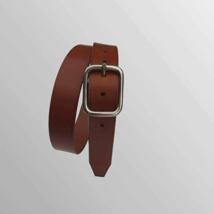 ceinture made in france boucle inox et cuir de qualité