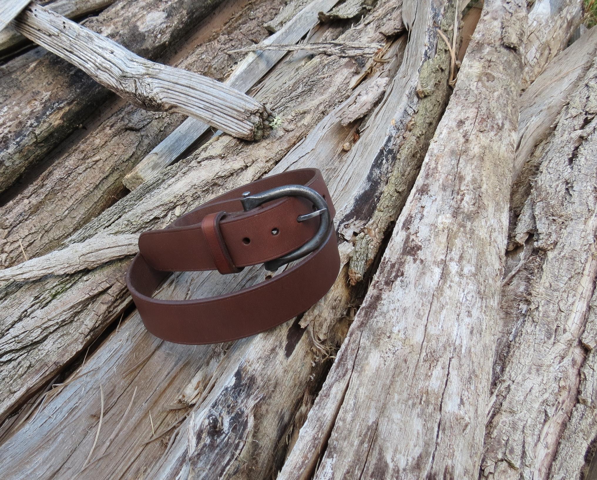 ceinture-cuir-boucle-forgee