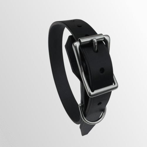 collier cuir pour chien avec protection de boucle
